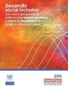 Portada Desarrollo social inclusivo: una nueva generación de políticas